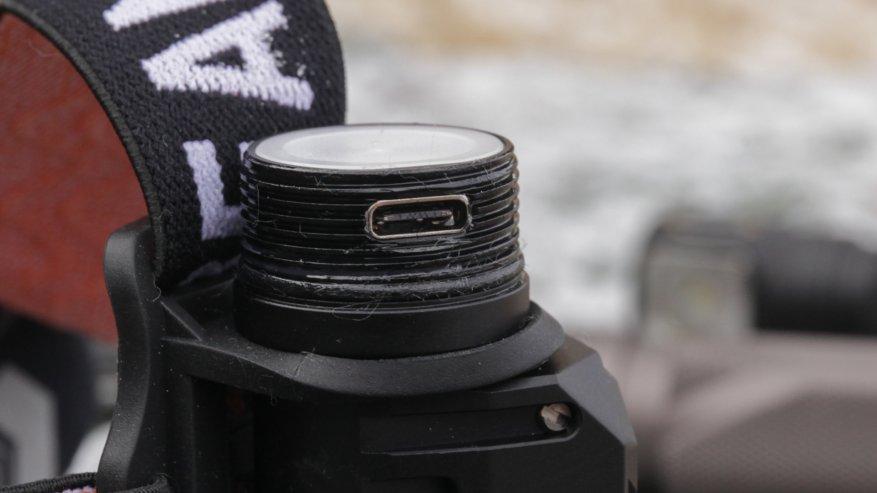Acebeam H50: مصباح أمامي ساطع مدمج به ثلاثة مصابيح LED 14