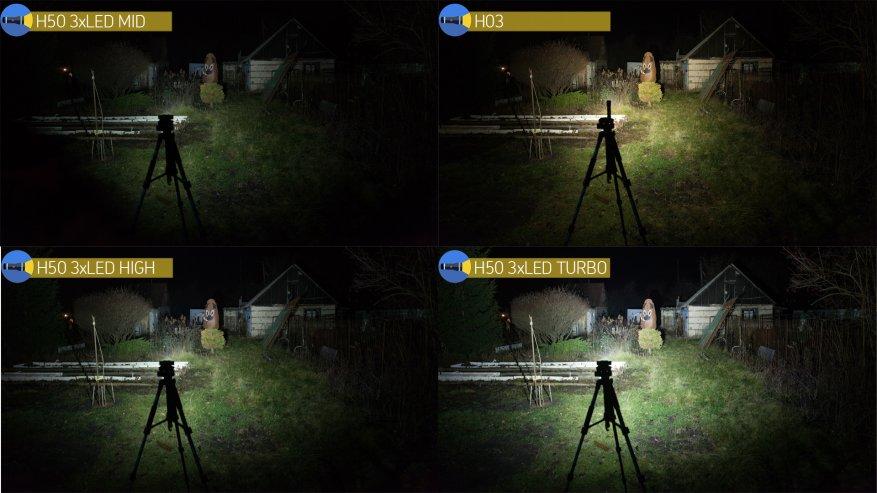 Acebeam H50: مصباح أمامي ساطع مدمج به ثلاثة مصابيح LED 31