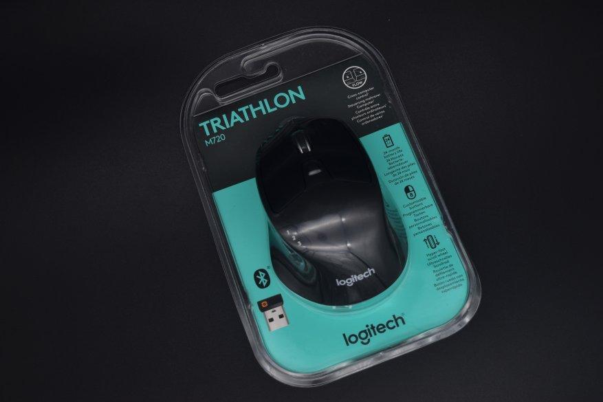 Магазины Украины и СНГ: Беспроводная мышь Logitech M720 Triathlon. Функциональный пухлячок