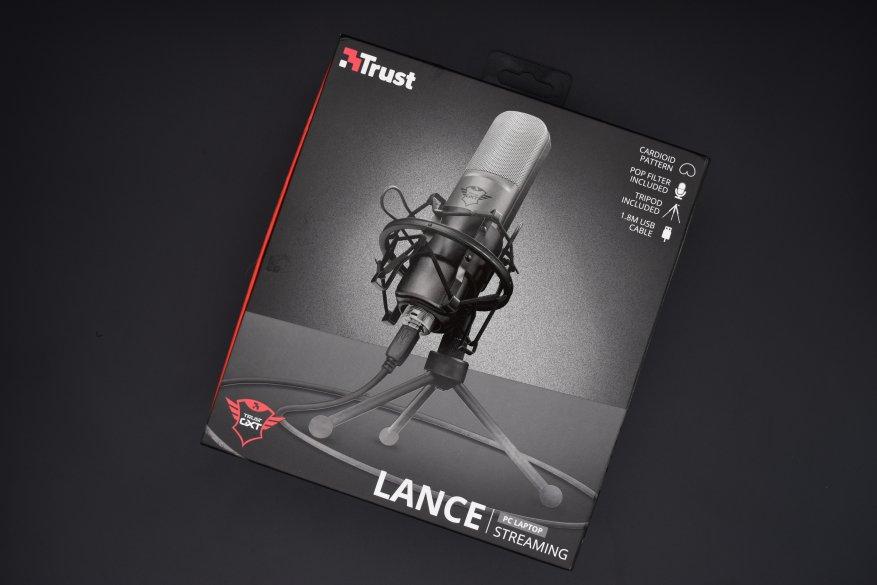 Магазины Украины и СНГ: Микрофон Trust GXT 242 Lance: отличное решение для потоковых трансляций