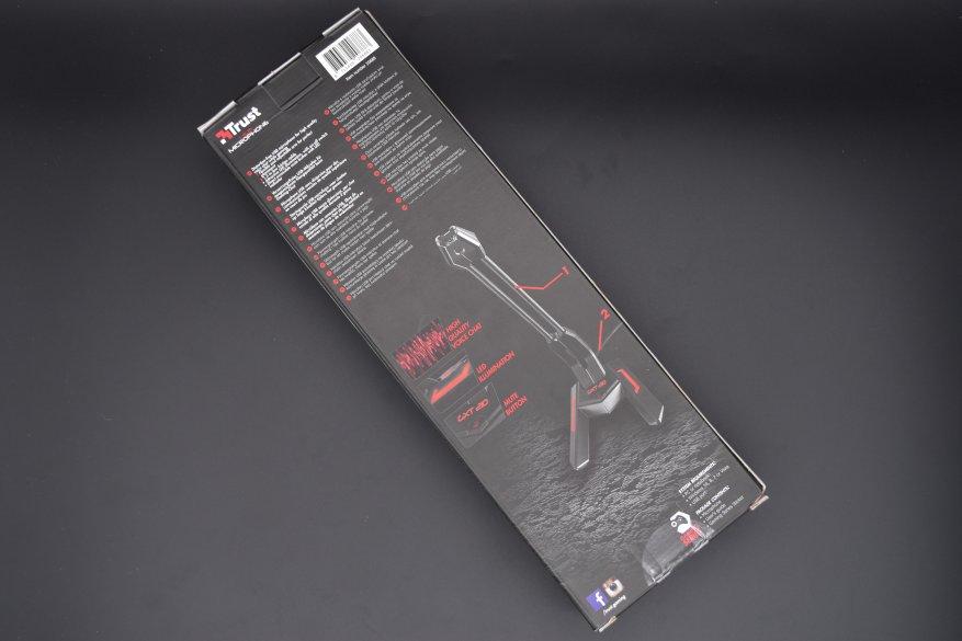 Магазины Украины и СНГ: Trust GXT 210 Scorp: USB-микрофон для геймеров, с функцией шумоподавления