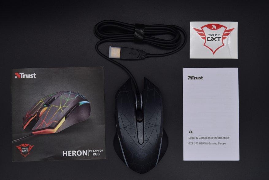 Магазины Украины и СНГ: Мышь Trust Heron GXT 170: геймеру придется по вкусу