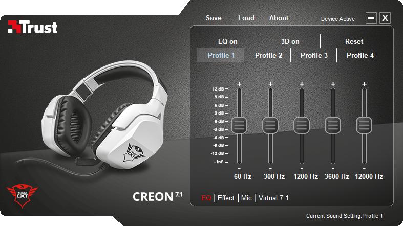 Магазины Украины и СНГ: Trust GXT 354 Creon 7.1: проводная геймерская гарнитура с вибромоторчиком