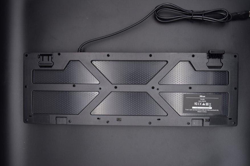 Магазины Украины и СНГ: Trust Thura: интересная полумеханическая клавиатура с RGB-подсветкой