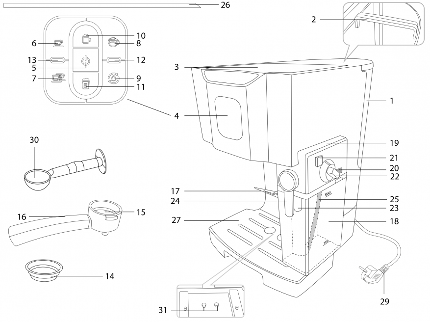 Магазины Украины и СНГ: Redmond RCM-1511: а вы когда-нибудь мечтали о кофеварке?