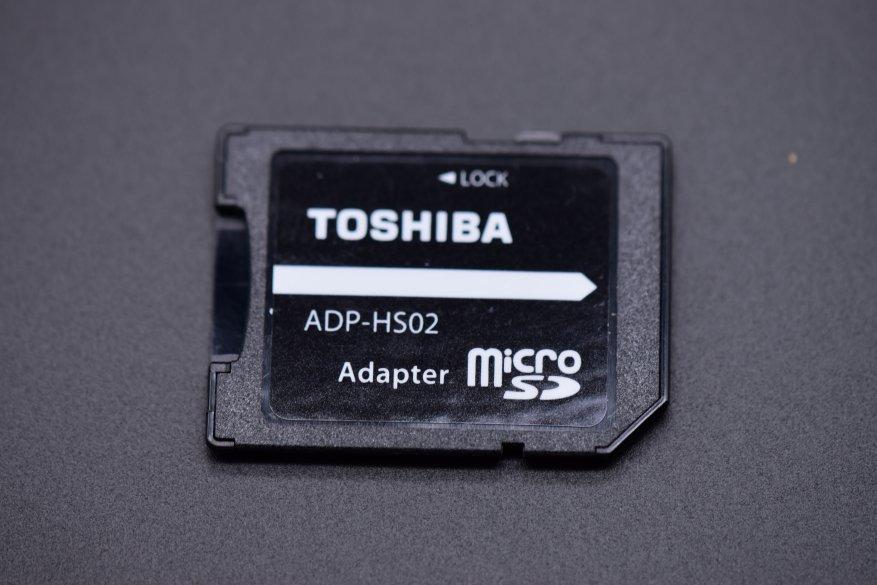 بطاقة Toshiba microSDXC UHS-I 64 جيجابايت M303E: بطاقة ذاكرة سريعة جدًا 4