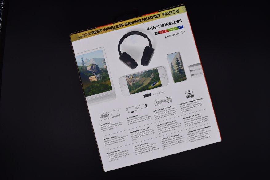 جديد SteelSeries: سماعة رأس Arctis 1 اللاسلكية 1
