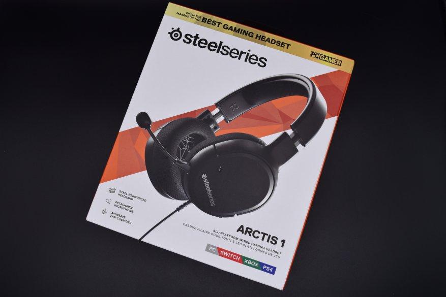Проводные геймерские наушники SteelSeries Arctis 1