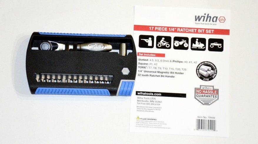 مجموعة مريحة: اسئلة مع بت Wiha XLSelector (79499) 3