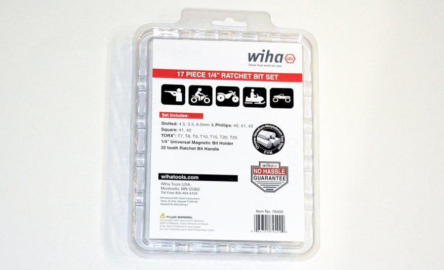 مجموعة مريحة: اسئلة مع بت Wiha XLSelector (79499) 2