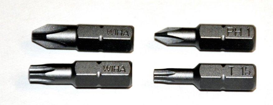 مجموعة مريحة: اسئلة مع بت Wiha XLSelector (79499) 19