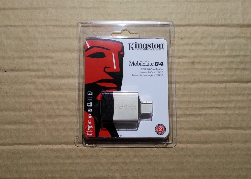 قارئ بطاقات Kingston MobileLite G4 USB 3.0: قوي وموثوق و UHS-II 1