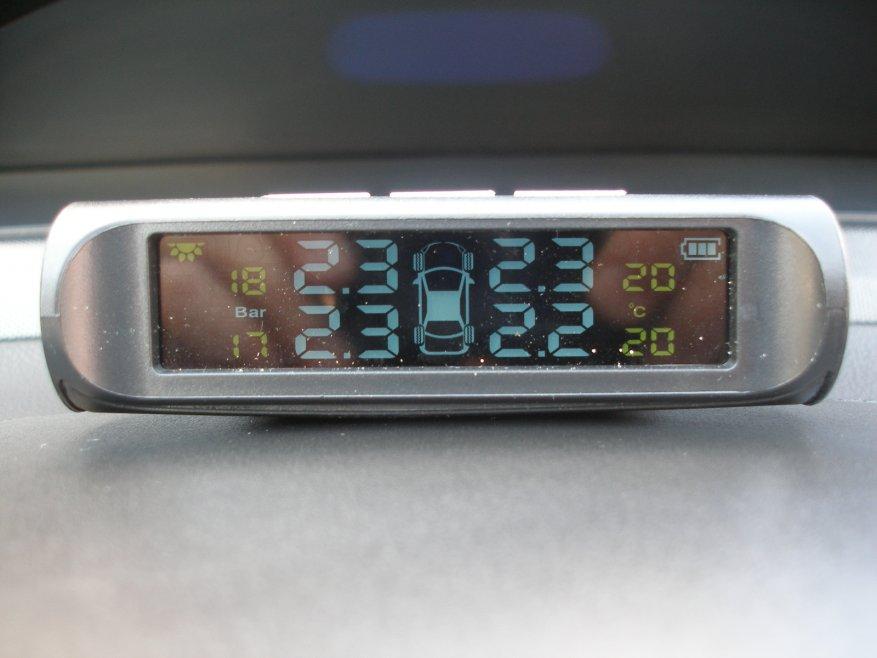 Система датчиков давления в шинах