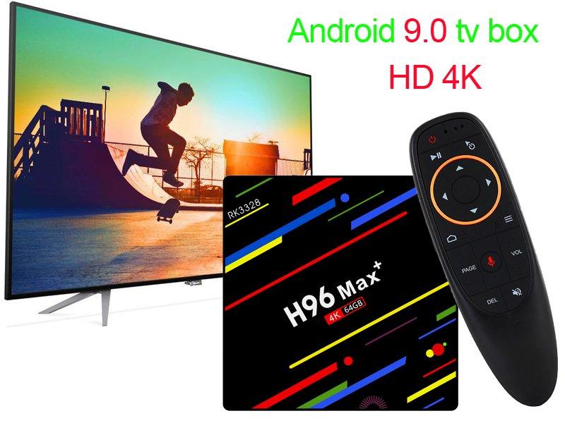 Android 9 Pie Ready для чип-приставок / Лайв им  H96 TV BOX