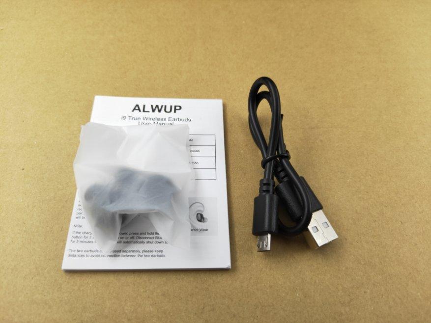 سماعات TWS Alwup I9 4