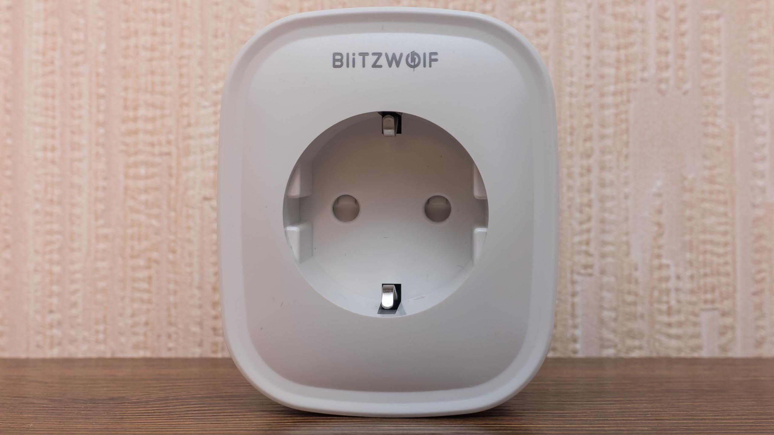 Wi-Fi-розетка BlitzWolf BW-SHP2 с энергомониторингом: обзор