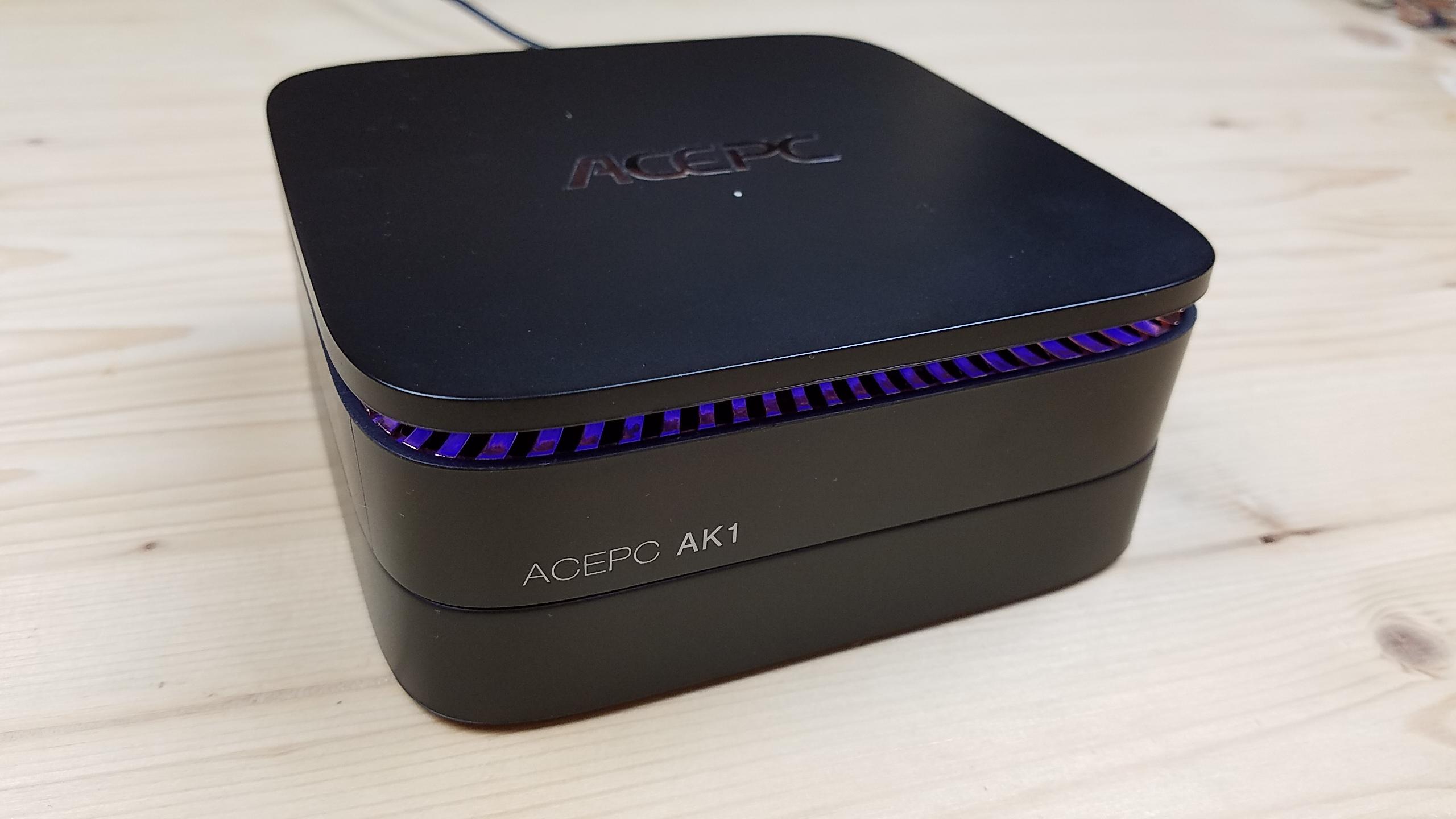 ACEPC AK1 - обзор отличного Мини ПК на Intel Celeron J3455 с