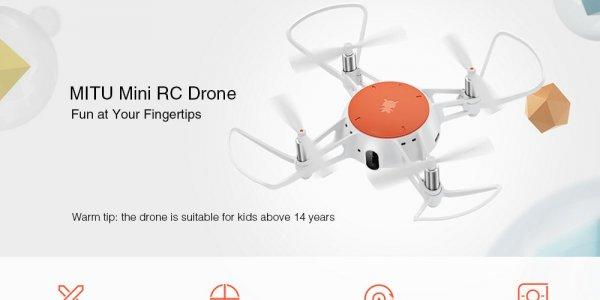 Бюджетный квадрокоптер Xiaomi MiTu <b>Mini</b> RC <b>Drone</b> / Дроны ...