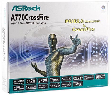 Asrock A770CrossFire Drivers for Windows 7