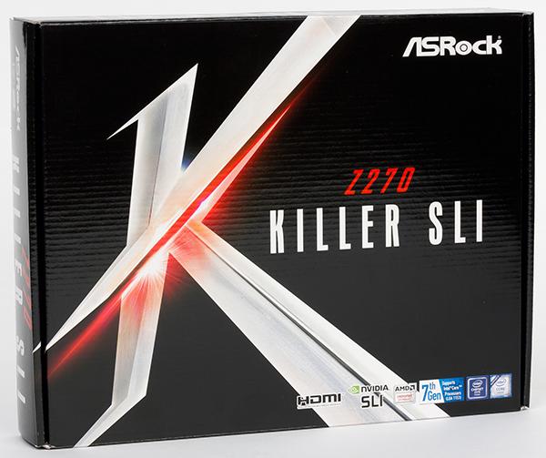 обзор материнской платы ASRock Z270 Killer SLI