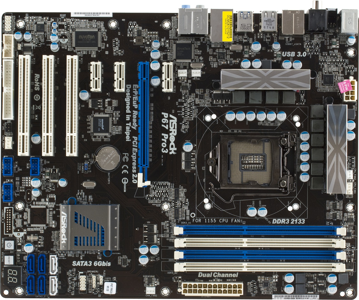 Ixbt Labs Asrock P67 Pro3 B3 Motherboard Page 1