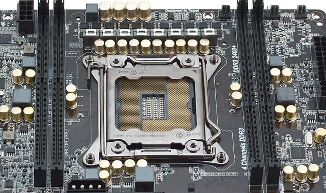 В схеме питания процессора