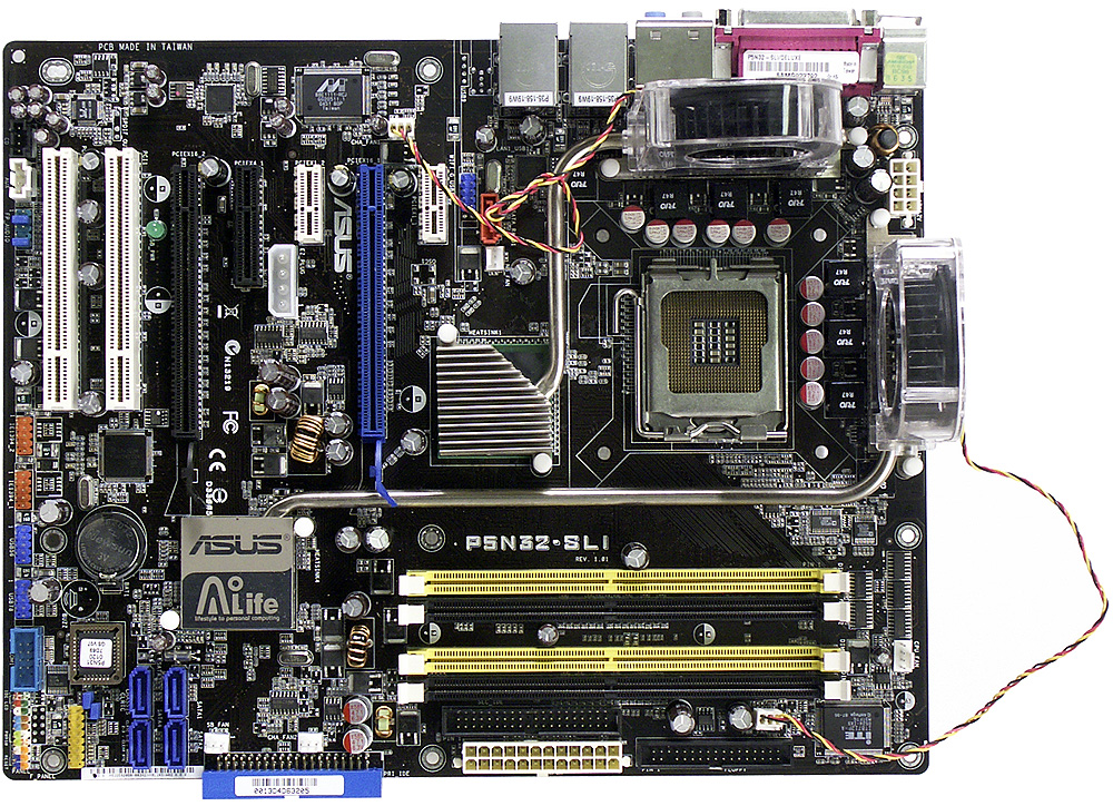 ASUS P5N32 SLI Deluxe A Motherboard Based On NVIDIA NForce4 Intel Edition