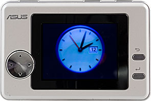 Clock widget on OC Palm