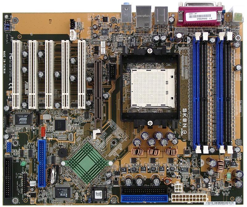 ASUS SK8N NVIDIA nForce3 Pro 150 Mainboard