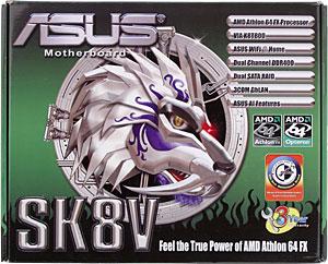 Drivers: Asus SK8V