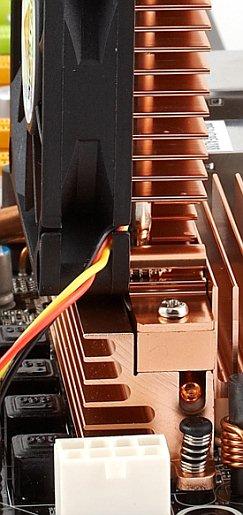 heat pipe and onboard heatsink