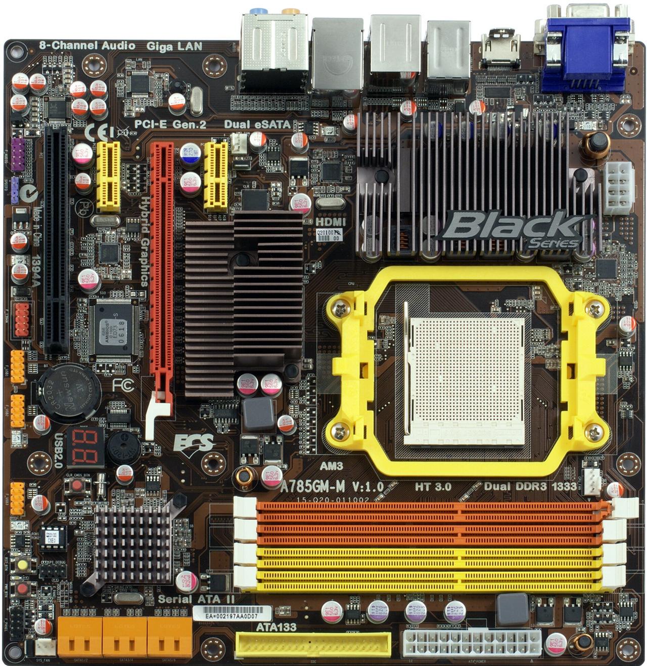 ECS A785GM-M (V1.0) DESCARGAR DRIVER