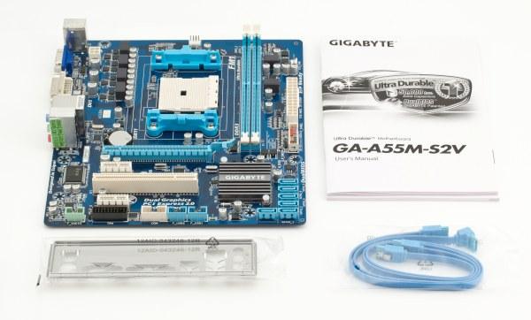 Материнская плата Gigabyte A55M-S2V