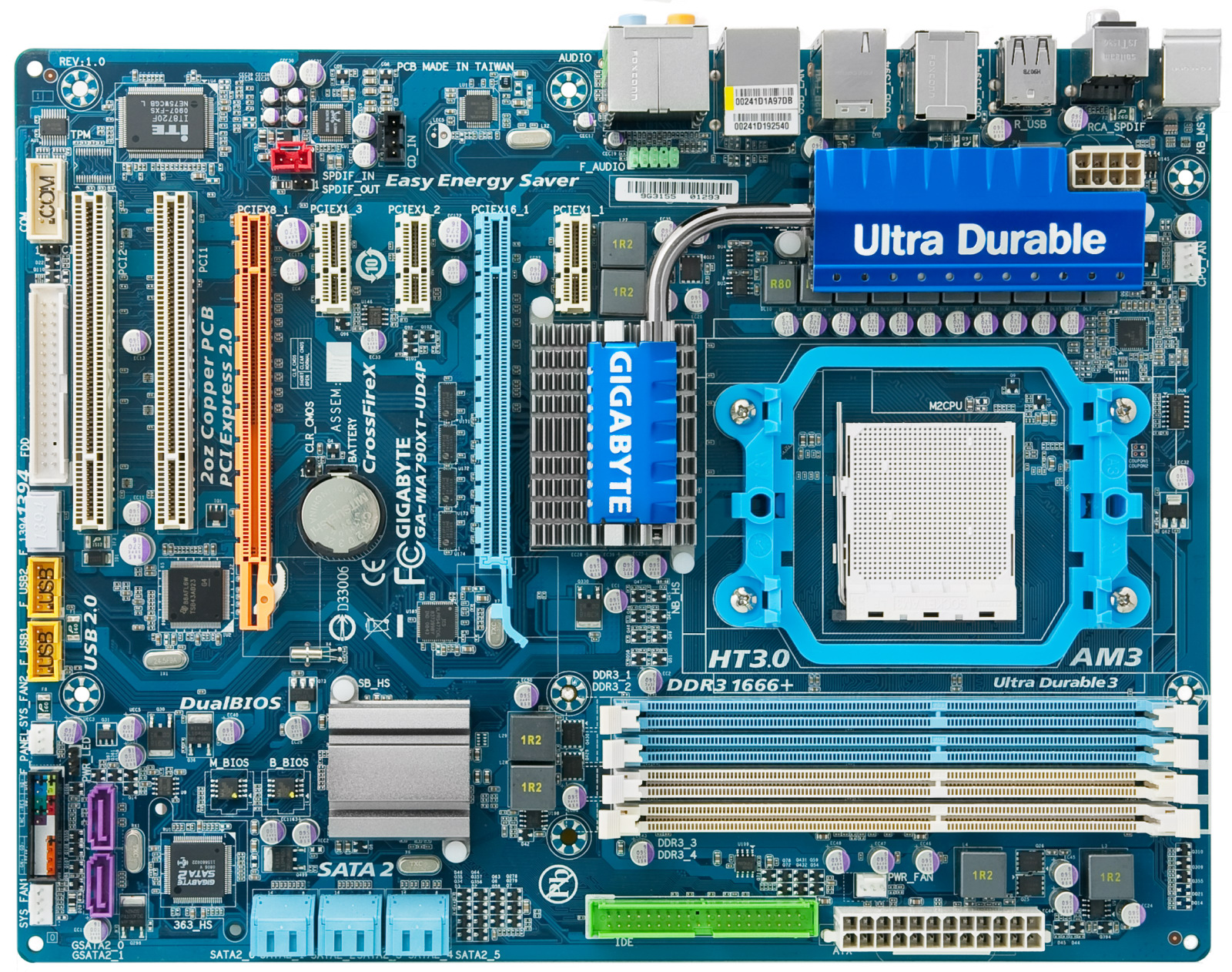 Ixbt Labs Gigabyte Ma790xt Ud4p Motherboard Page 1