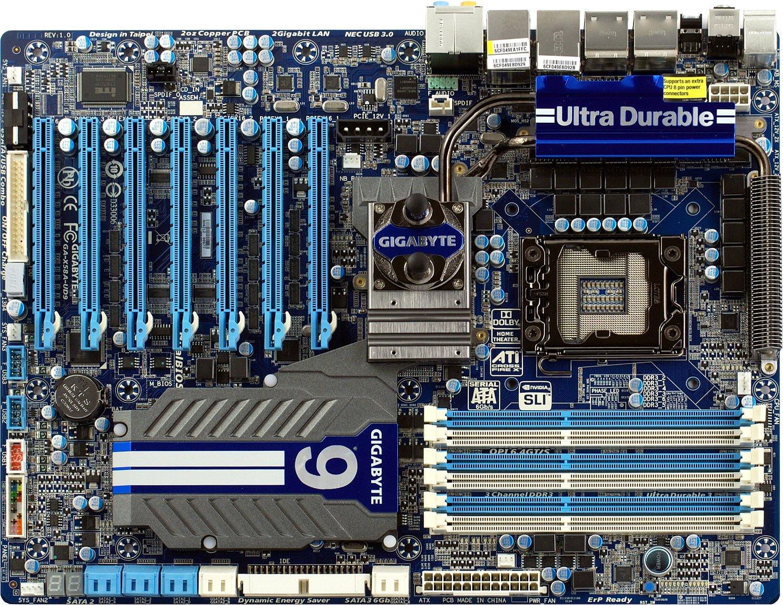 Gigabyte GA-X58A-UD9 SATA2 Descargar Controlador