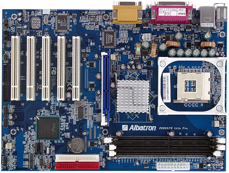ALBATRON PX865PE LITE (V2.0) WINDOWS VISTA 64-BIT