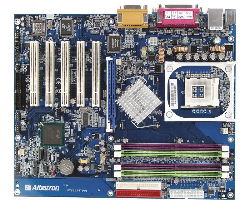 Albatron PX865PE Lite Pro Last