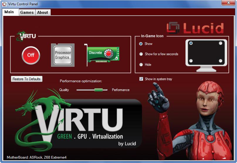 Lucidlogix Virtu MVP 2.0 Graphics Drivers Windows 7