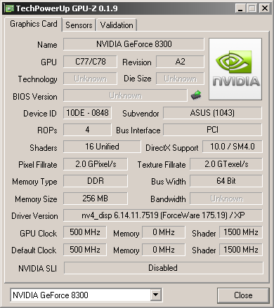 NEW DRIVERS: NVIDIA NFORCE 720A CHIPSET