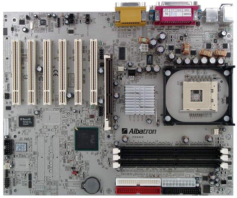 Albatron PX845E Pro II Intel Chipset Driver PC