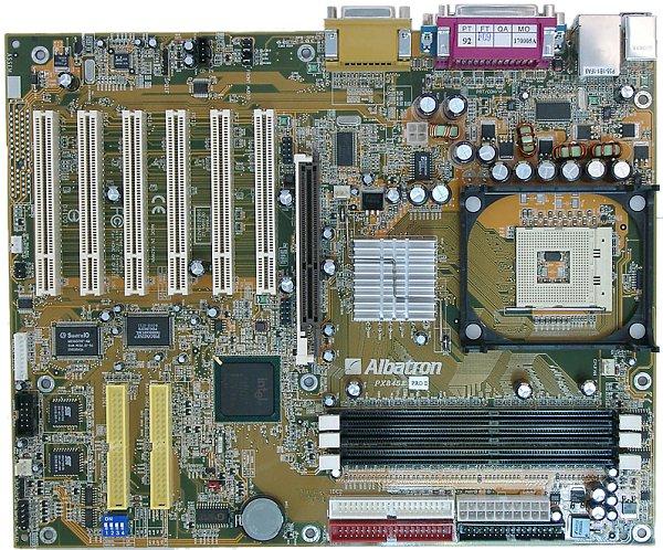 New Drivers: Albatron PX845G Pro Intel Chipset