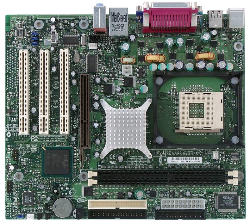 Intel D845GERG2 Socket 478 (KD845GERLKPAK10) Motherboard