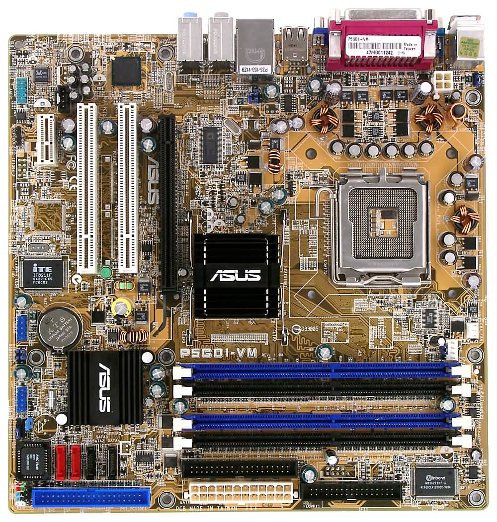 ASUS P5GD1-VMX DRIVER FOR WINDOWS MAC