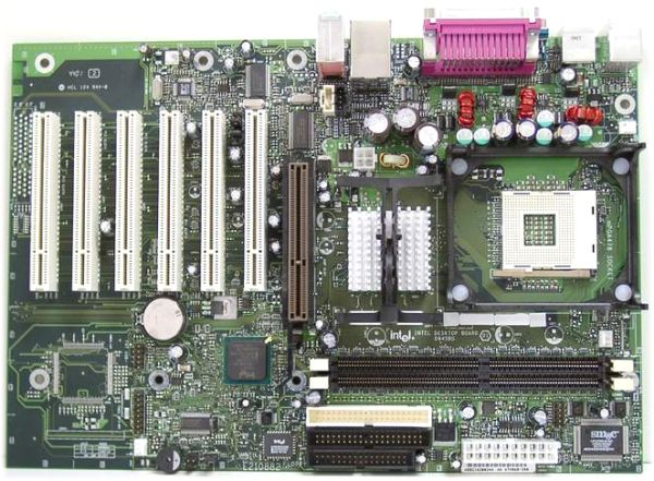 Intel desktop board d845pt