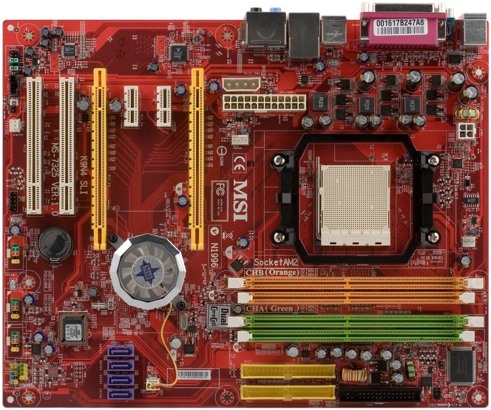 MSI K9N4 SLI Driver for Mac