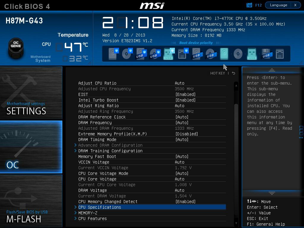 MSI H87M-E33 Intel Smart Connect Technology Treiber Windows XP