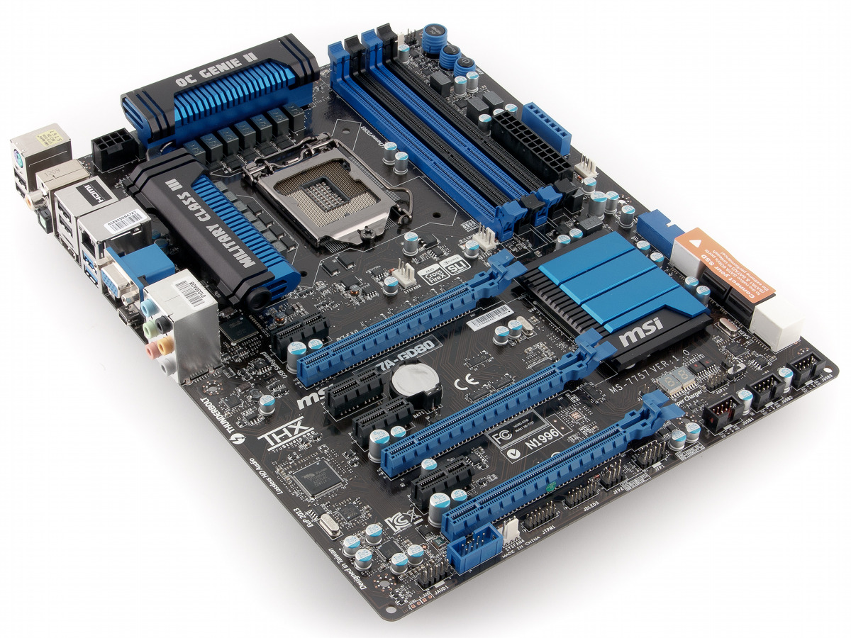 Системная плата msi za gd на чипсете intel z  Материнская плата msi z77a gd80