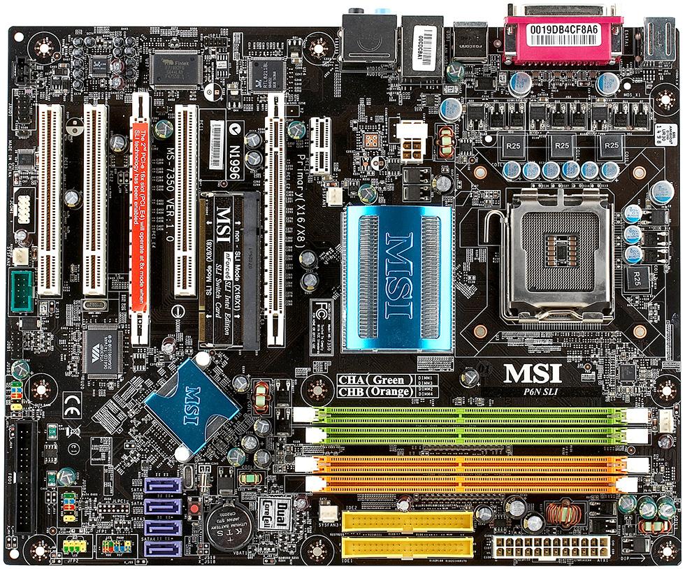 Msi p7n sli platinum motherboard youtube.