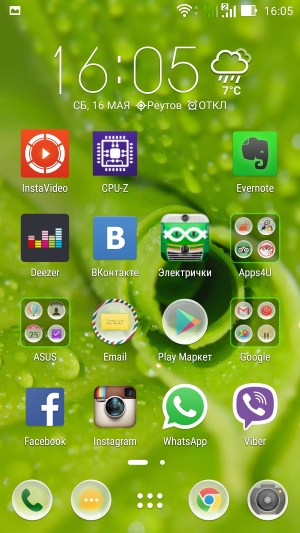 Операционная система Asus Zenfone 2 ZE551ML
