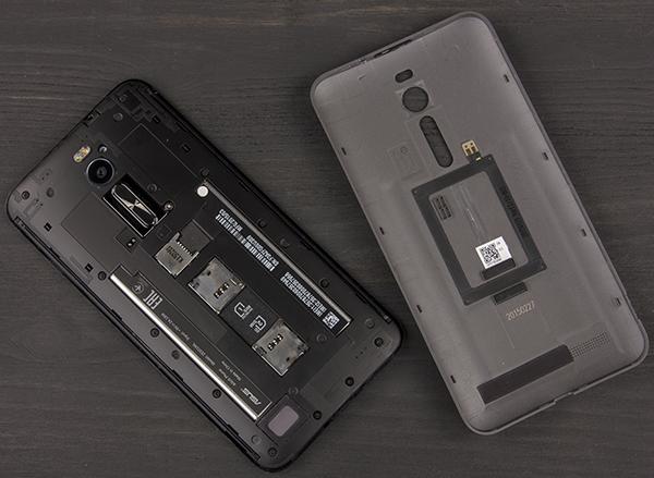 Дизайн смартфона Asus Zenfone 2 ZE551ML